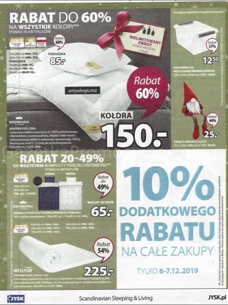 Jysk gazetka promocyjna od 2019-12-05, strona 24