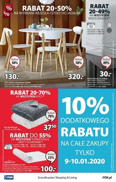 Jysk gazetka promocyjna od 2020-01-09, strona 16