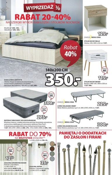 Jysk gazetka promocyjna od 2020-01-09, strona 6