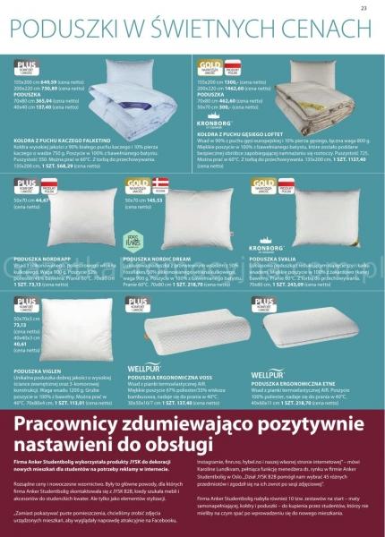 Jysk gazetka promocyjna od 2020-03-11, strona 23