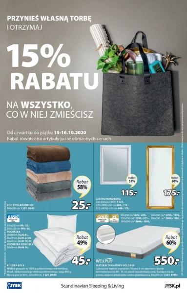 Jysk gazetka promocyjna od 2020-10-14, strona 16