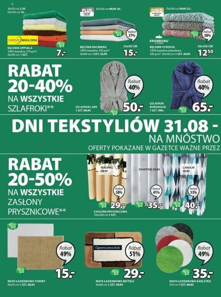 Jysk gazetka promocyjna od 2017-08-31, strona 4