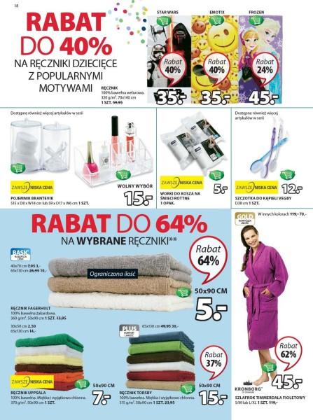 Jysk gazetka promocyjna od 2017-09-07, strona 18