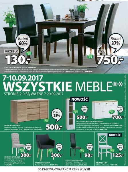 Jysk gazetka promocyjna od 2017-09-07, strona 5