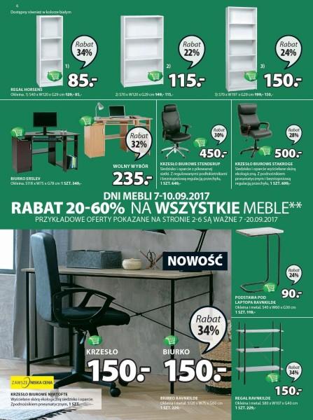 Jysk gazetka promocyjna od 2017-09-07, strona 6