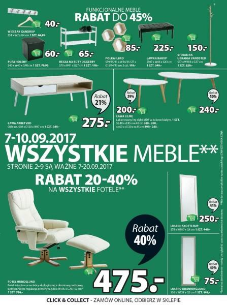 Jysk gazetka promocyjna od 2017-09-07, strona 9
