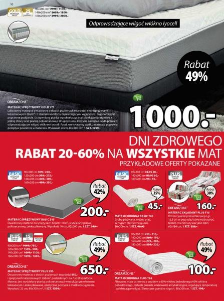 Jysk gazetka promocyjna od 2018-01-02, strona 10