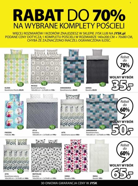 Jysk gazetka promocyjna od 2018-01-02, strona 5
