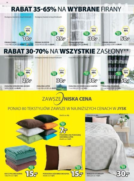 Jysk gazetka promocyjna od 2018-01-11, strona 14