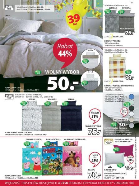 Jysk gazetka promocyjna od 2018-04-12, strona 13