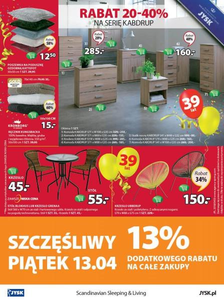 Jysk gazetka promocyjna od 2018-04-12, strona 16