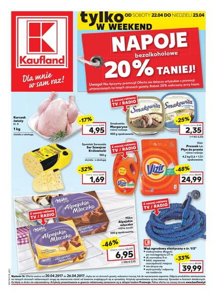 Kaufland gazetka promocyjna od 2017-04-20, strona 1