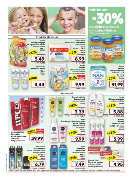 Kaufland gazetka promocyjna od 2017-04-20, strona 20