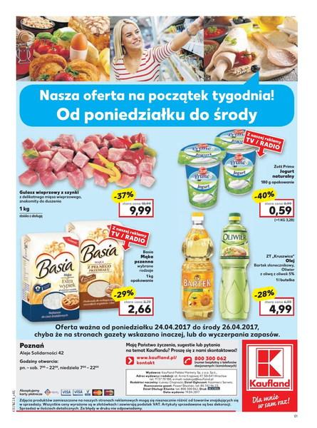 Kaufland gazetka promocyjna od 2017-04-20, strona 40