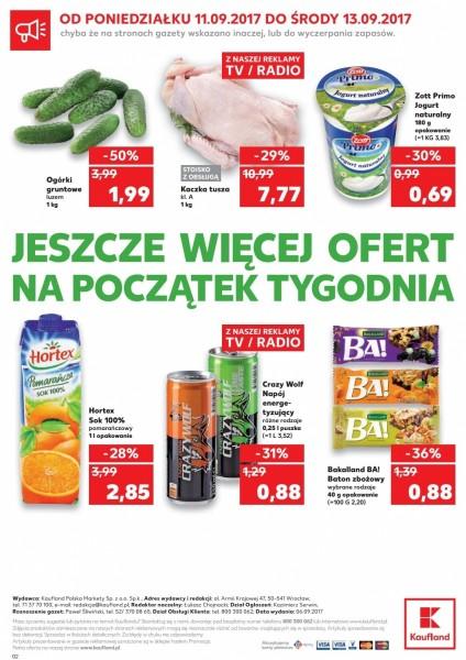 Kaufland gazetka promocyjna od 2017-09-07, strona 40