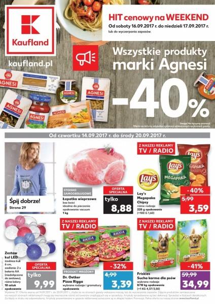 Kaufland gazetka promocyjna od 2017-09-14, strona 1