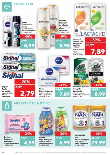 Kaufland gazetka promocyjna od 2017-09-14, strona 24