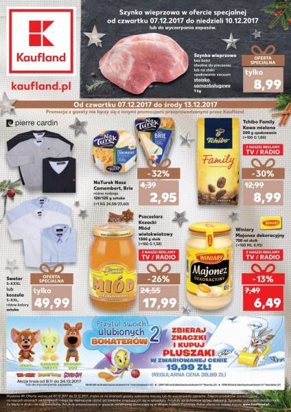 Kaufland gazetka promocyjna od 2017-12-07, strona 1