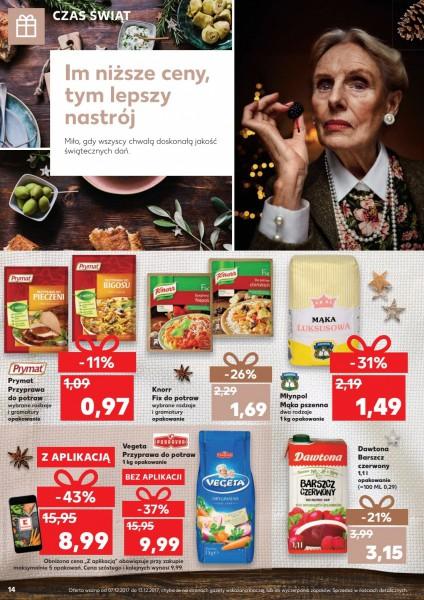 Kaufland gazetka promocyjna od 2017-12-07, strona 14