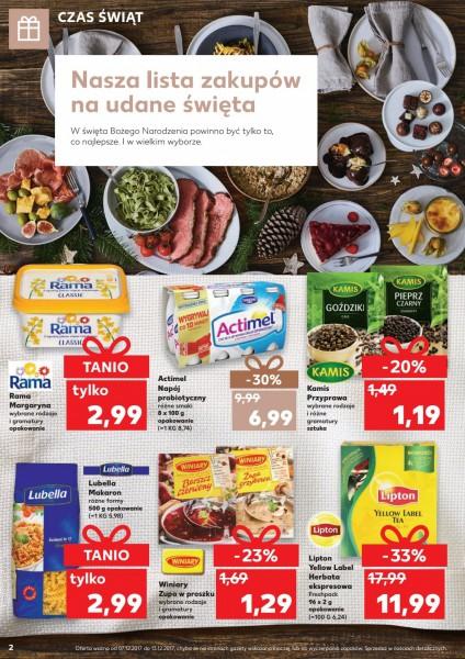 Kaufland gazetka promocyjna od 2017-12-07, strona 2