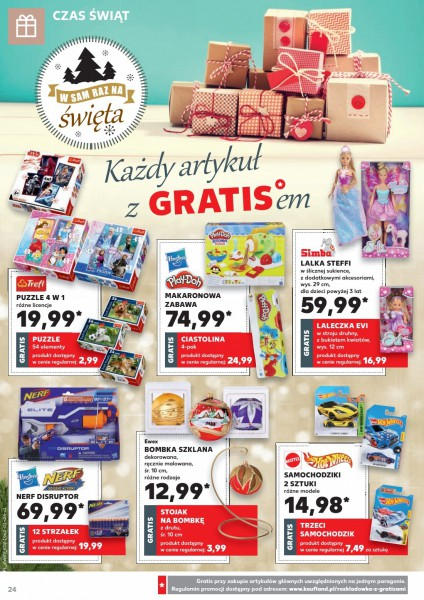 Kaufland gazetka promocyjna od 2017-12-07, strona 24