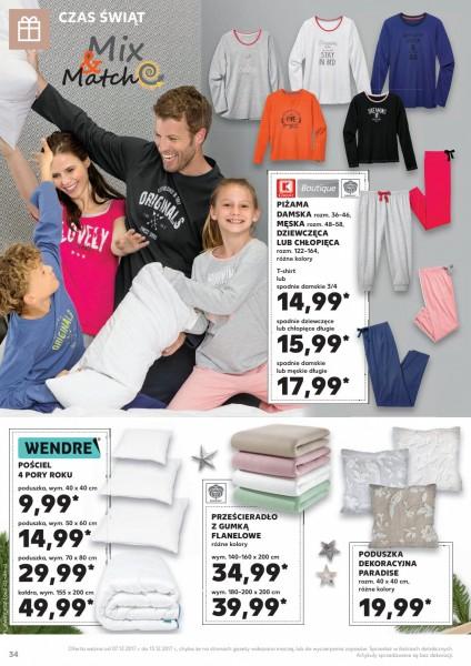 Kaufland gazetka promocyjna od 2017-12-07, strona 34