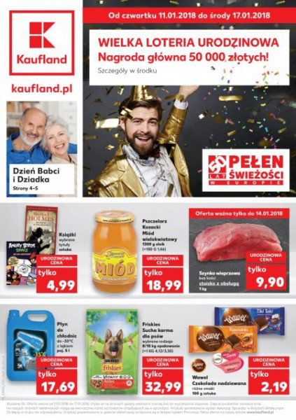 Kaufland gazetka promocyjna od 2018-01-11, strona 1
