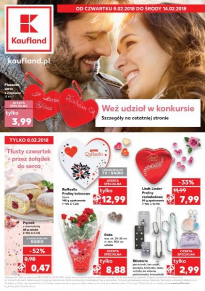 Kaufland gazetka promocyjna od 2018-02-08, strona 1