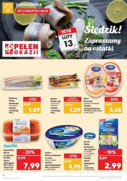 Kaufland gazetka promocyjna od 2018-02-08, strona 12