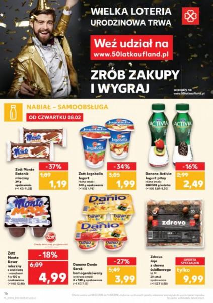 Kaufland gazetka promocyjna od 2018-02-08, strona 16