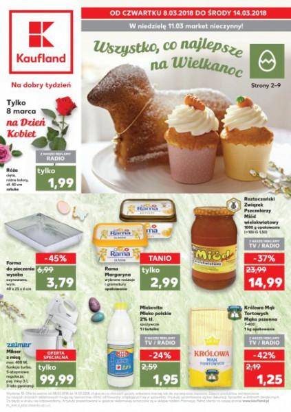 Kaufland gazetka promocyjna od 2018-03-08, strona 1