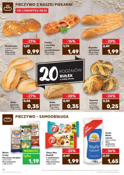 Kaufland gazetka promocyjna od 2018-03-08, strona 20