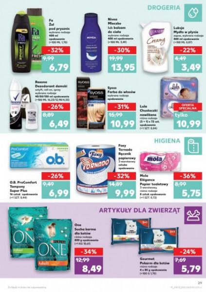 Kaufland gazetka promocyjna od 2018-03-08, strona 29