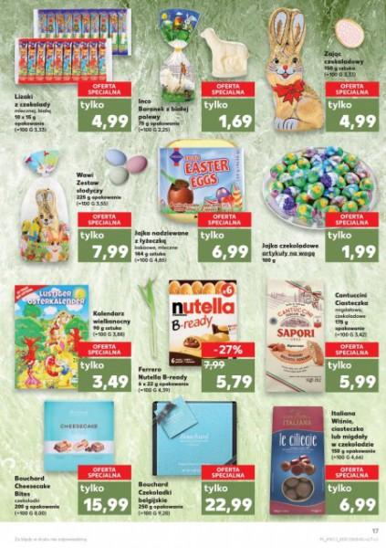 Kaufland gazetka promocyjna od 2018-03-15, strona 17