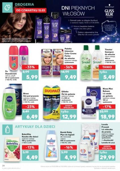 Kaufland gazetka promocyjna od 2018-03-15, strona 24