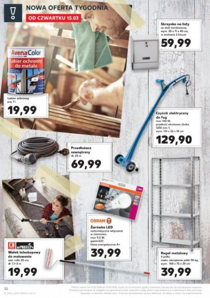 Kaufland gazetka promocyjna od 2018-03-15, strona 32