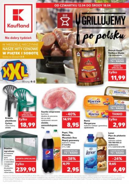 Kaufland gazetka promocyjna od 2018-04-12, strona 1