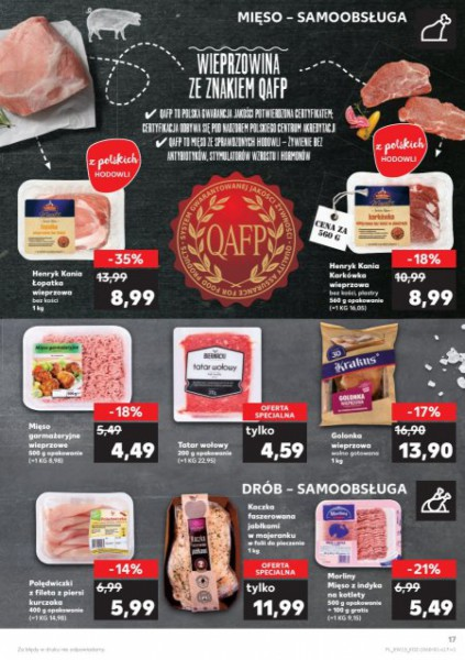 Kaufland gazetka promocyjna od 2018-04-12, strona 17