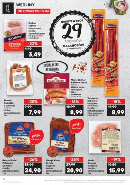 Kaufland gazetka promocyjna od 2018-04-12, strona 18