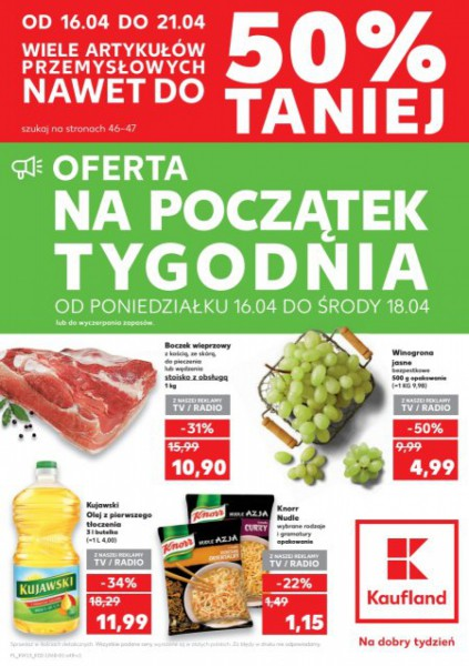 Kaufland gazetka promocyjna od 2018-04-12, strona 48