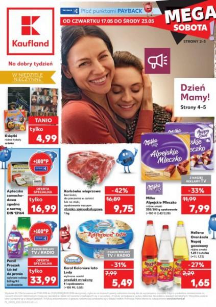 Kaufland gazetka promocyjna od 2018-05-17, strona 1