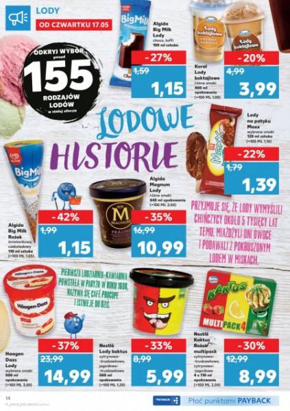 Kaufland gazetka promocyjna od 2018-05-17, strona 14