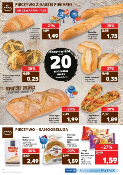 Kaufland gazetka promocyjna od 2018-05-17, strona 18