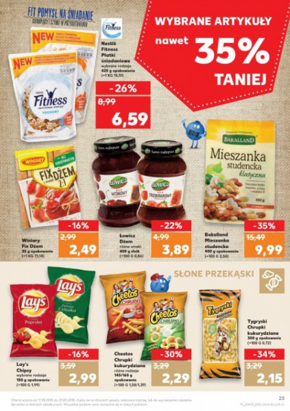 Kaufland gazetka promocyjna od 2018-05-17, strona 23