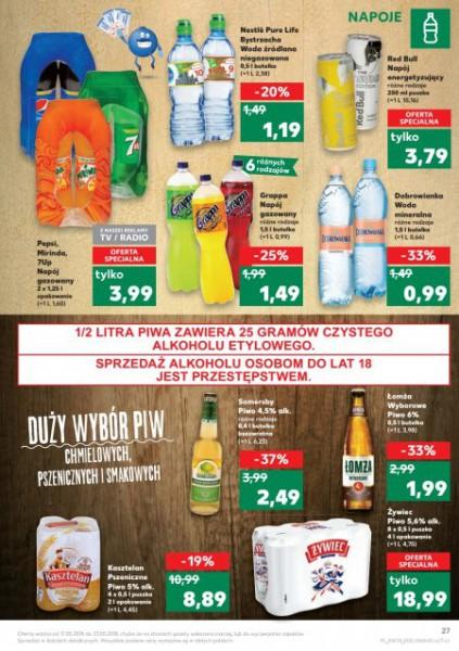 Kaufland gazetka promocyjna od 2018-05-17, strona 27