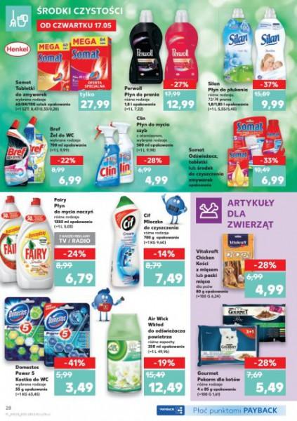 Kaufland gazetka promocyjna od 2018-05-17, strona 28