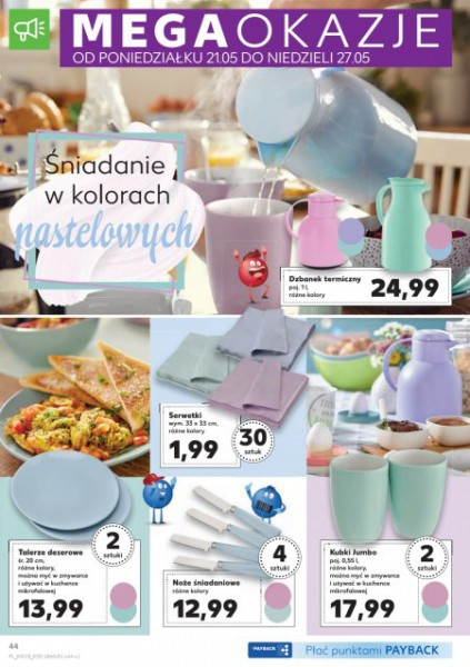 Kaufland gazetka promocyjna od 2018-05-17, strona 44