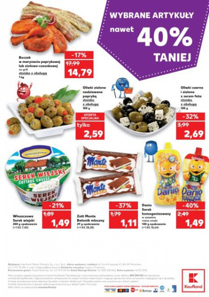 Kaufland gazetka promocyjna od 2018-05-17, strona 47