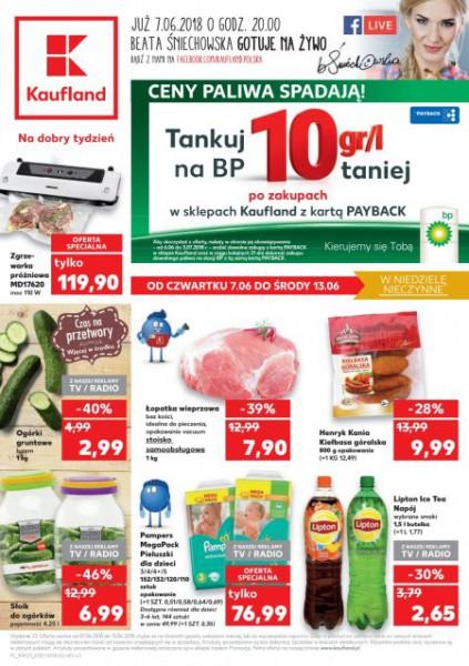 Kaufland gazetka promocyjna od 2018-06-07, strona 1