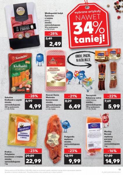 Kaufland gazetka promocyjna od 2018-06-07, strona 13